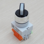 LAY37-11X2 660V 10A 2-Position Industrial Selector Rotary Switch ON-OFF