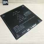 214 x 214 mm MK2B Dual Power PCB Heat Bed (Black) / Hot Plate 3D Printer