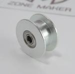 Pulley Wheel แบบ 20 ฟัน 2GT width 6mm belt ไม่มีฟัน (ใส่แกน 3m)