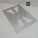 Aluminum Y Plate for Prusa i3 upgrade 300x200mm