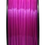 เส้นพลาสติก PLA สีม่วงโปร่งใส 1.75mm/1 kg (ยาว 350m)