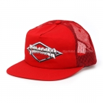 Thrasher Diamond Emblem Trucker Hat - Red