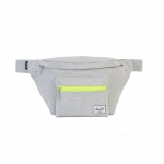 Herschel Seventeen Hip Pack - Light Grey Crosshatch