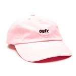 OBEY Jumble Bar Hat - Pink