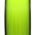 เส้นพลาสติก PLA สีเหลืองฟลูออเรสเซนต์1.75mm/1 kg (ยาว 350m)