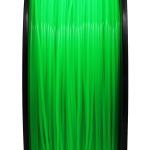 เส้นพลาสติก PLA สีเขียวฟลูออเรสเซนต์ 1.75mm/1 kg
