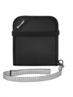 Pacsafe | V100 Anti-theft RFID blocking bi-fold Wallet (Black)