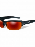 WileyX Valor - 1 Lens - Polarized Crimson Mirrow (Smoke Grey) (Frame - Black 2 Tone)