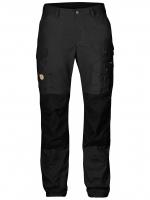 Fjällräven - กางเกงเดินป่าเดินเขารุ่น Vidda Pro Trousers Regular for women - Dark Grey