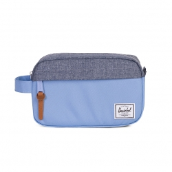 Herschel Chapter Travel Kit | Carry-On - Hydrangea / Dark Chambray Crosshatch