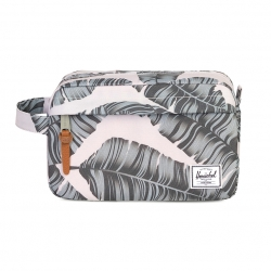 Herschel Chapter Travel Kit - Silver Birch Palm