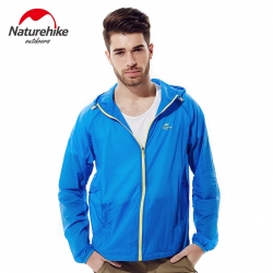 Nature hike Quick Dry Breathable jacket - Sky Blue สำเนา
