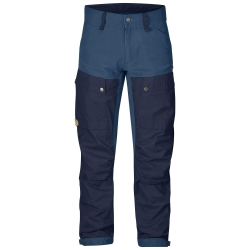 Fjallraven - Keb Trousers Regular - Dark Navy