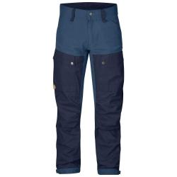 Fjallraven - Keb Trousers Regular - Dark Navy