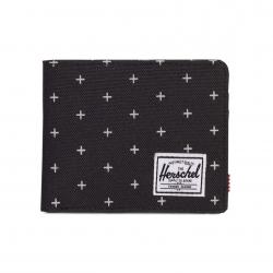Herschel Roy Wallet - Black Gridlock / RFID