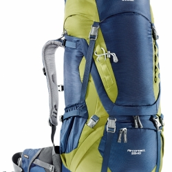 DEUTER Aircontact 55 + 10 midnight-moss