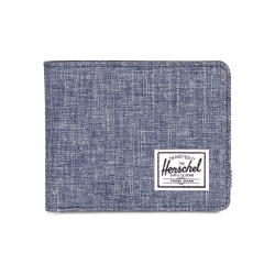 Herschel Roy Wallet - Dark Chambray Crosshatch / RFID
