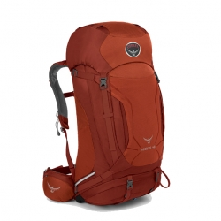 Osprey Kestrel 48L for Men - Red