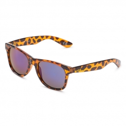 Vans Spicoli 4 Sunglasses - Translucent Honeytortoise / Royal Blue Mirror