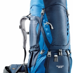 DEUTER Aircontact 65 + 10 midnight-ocean (blue)
