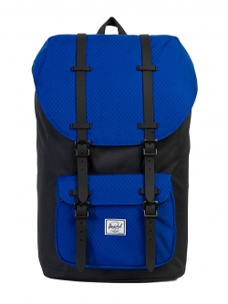 Herschel Little America - Black / Surf The Web