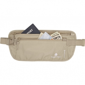 EAGLE CREEK | RFID Blocker Money Belt DLX - Tan