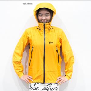 KAEMP 8848 Windstopper รุ่น Ice Tube สี Yellow สำหรับผู้หญิง (เสื้อกันลมกันน้ำที่ดีที่สุด)