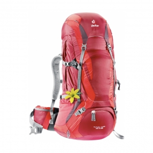 DEUTER Futura Vario 45+10 SL cranberry-fire (red)