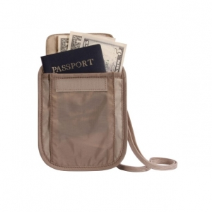 EAGLE CREEK | Undercover™ Neck Wallet - Tan