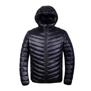 Ultra light down jacket for MEN สำหรับ 5-15 องศา - Black