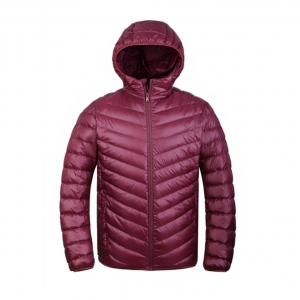 Ultra light down jacket for MEN สำหรับ 5-15 องศา - Red