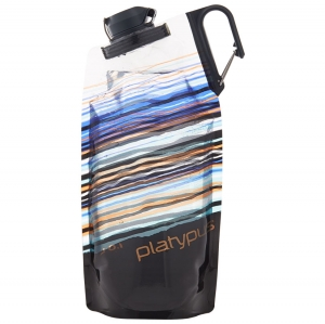 Platypus l Duolock Bottle 0.75L - Orange Skyline