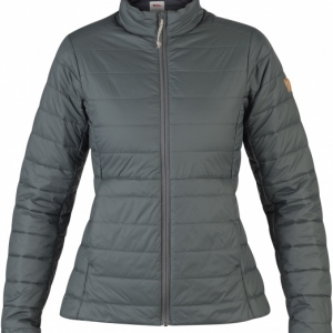 Fjällräven Keb Lite Padded jacket for Women - Stone Grey
