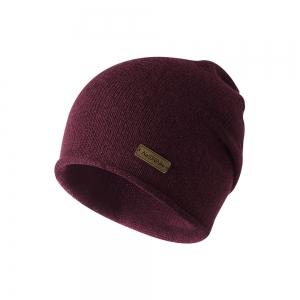 Nature Hike Wool beanie hat (Wine)