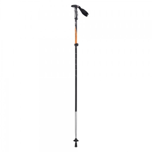 NATURE HIKE - 4 Node Outter Locked Aluminum Trekking Pole (Orange)