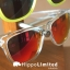 Knockaround Premiums Sunglasses - Clear / Red Sunset thumbnail 6