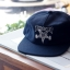 Thrasher Skategoat Wool Blend Snapback - Navy / White thumbnail 3